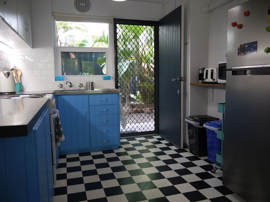 Kitchen/Back door to beach