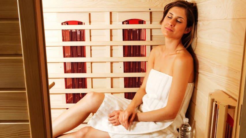 Appartement Zon met infrarood sauna op Texel