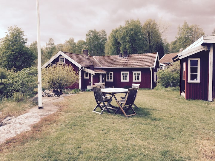 Cottage in countryside near Lysekil