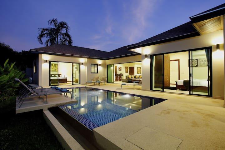 Onyx Villa - sleeps 8 - Nai Harn beach - Tambon Rawai - Hus