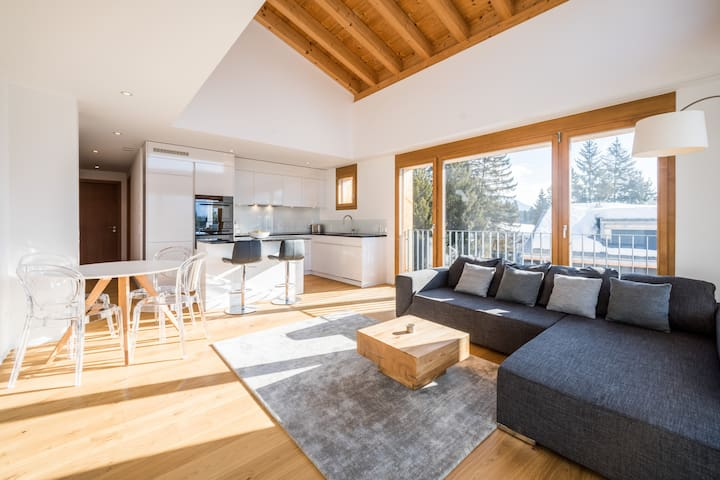 Brand new 2BR apartment in Laax (Taviarna)
