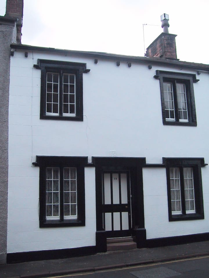 Cosy listed town house in quiet street.