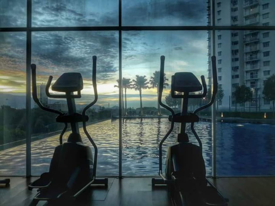 Gym by The Swimming Pool