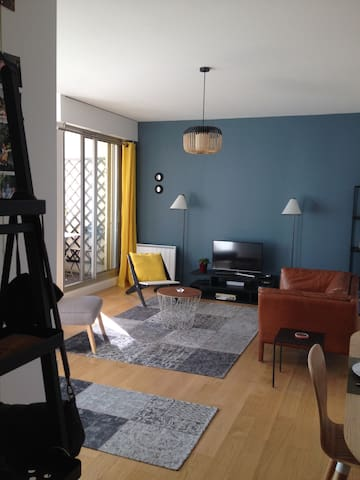 Appartement avec balcon proche de la Tour Eiffel