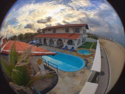 LUXURY BEACH HOUSE (SEA FRONT)  CAPONGA, FORTALEZA