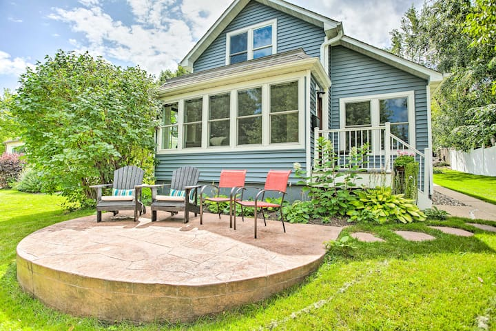 NEW! Charming Home w/ Patio, Next to Lake Waconia!