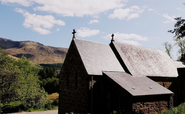 Quirky church in remote Scottish Highlands - Appin