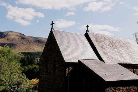 Quirky church in remote Scottish Highlands - Appin - Inny