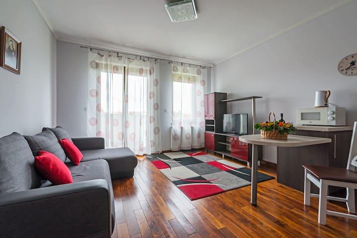 Apartament Rimini w cichej zielonej okolice