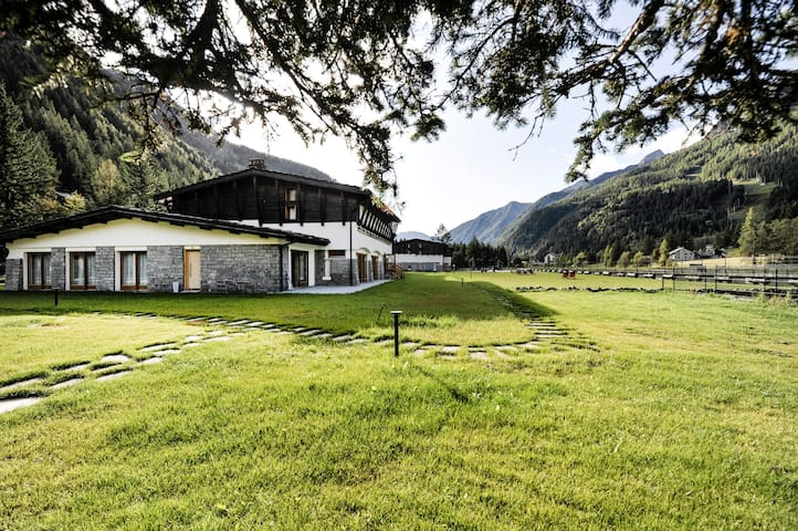 Walser - Spacious 2bdr in Gressoney Saint-Jean