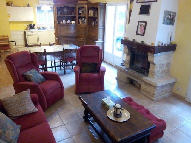maison avec jardin au calme - Vézénobres - Villa