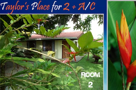 ►  Sun+Fun plus A/C for 2 inTortuguero - Room #2 - Colorado