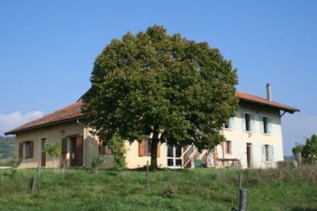 la grange du haut - Saint-Antoine-l'Abbaye