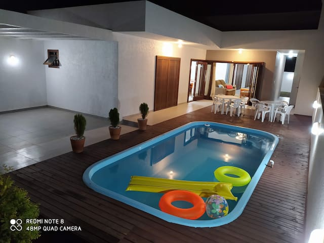 Casa TOP em Arroio +Piscina +Conforto +600m praia
