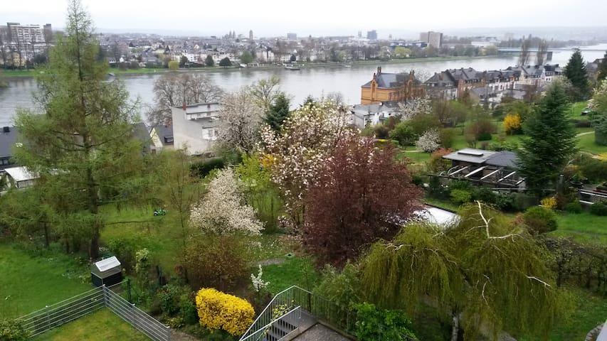 Zwei Gästezimmer & Rheinblick Koblenz Pfaffendorf - Koblenz - Wohnung