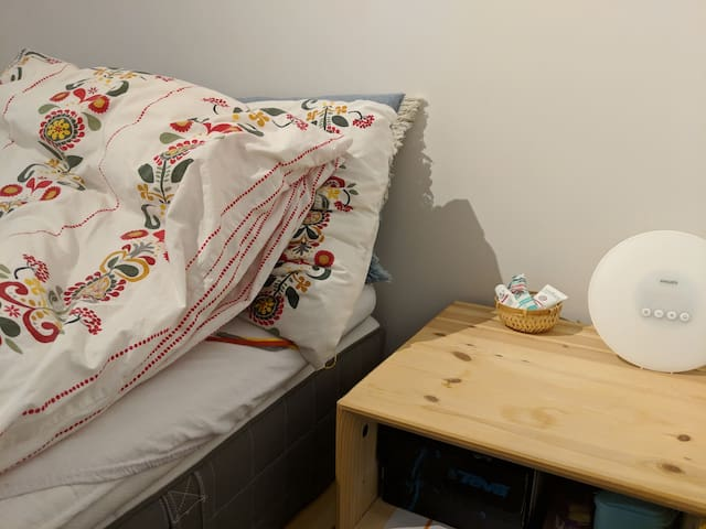 Cosy bedroom 7 min from Central Station
