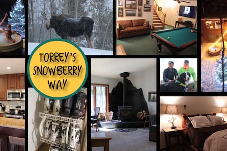 Snowberry Way- Summer in Mountains, Torrey's 1bd