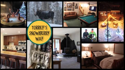 Snowberry Way- Early Winter Ski/Ride, Torrey's 1bd