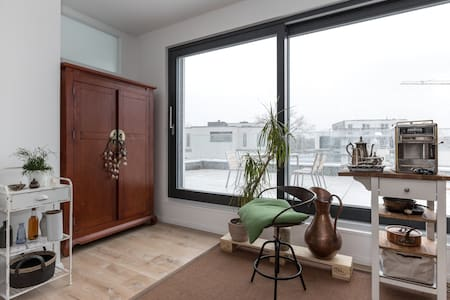 sunny rooftop apartment & terrace - Berlino