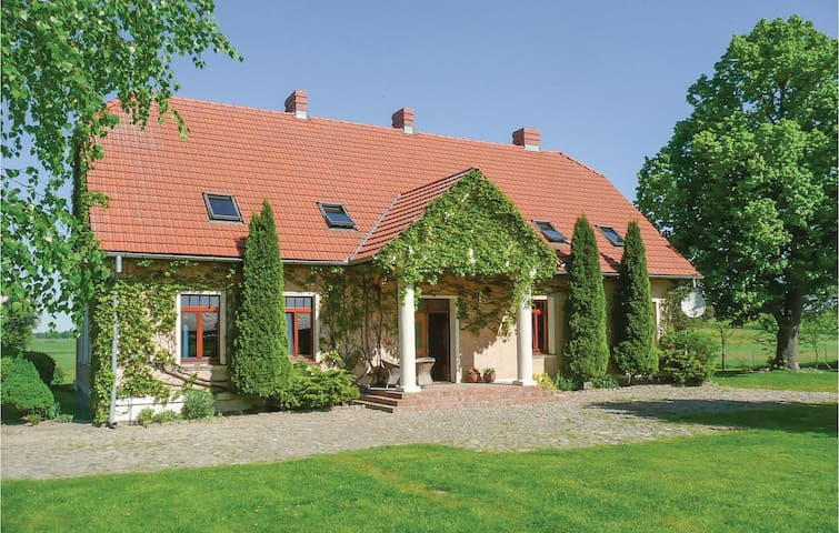 Former farm house with 7 bedrooms on 420m² in Nowe Worowo