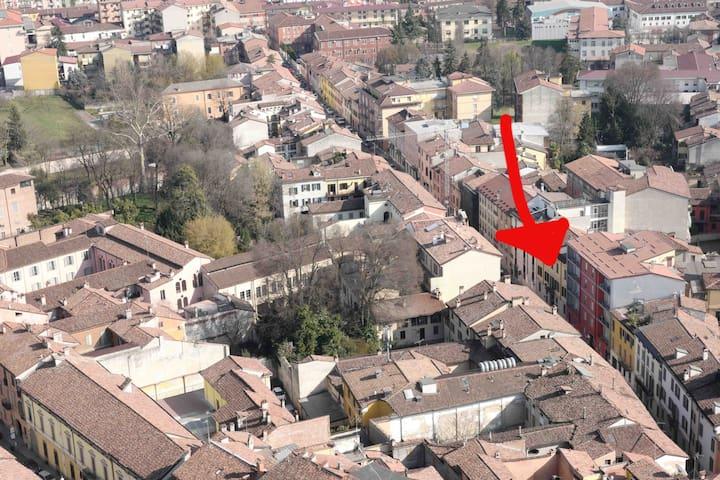 Nel cuore di Cremona - Cremona - Lägenhet