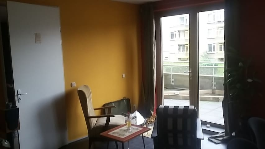 Spacious, colourfull appartment close to centre - Groningen - Apartment