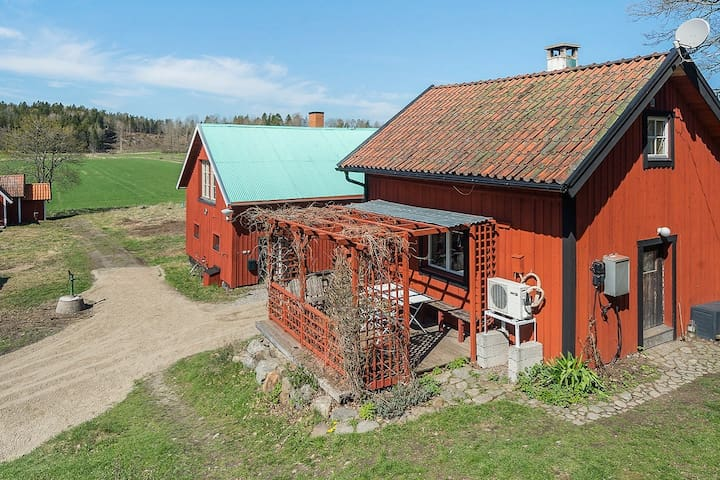 House from 1890 located in the countryside.