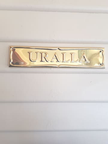 "Uralla ...Aborignal for ""house on a hill"""