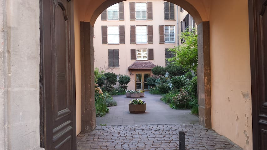 Smal flat (270 squre feet) in historic center - Colmar - Apartamento