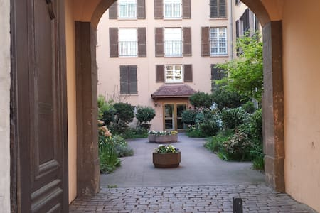 Smal flat (270 squre feet) in historic center - Colmar - 公寓