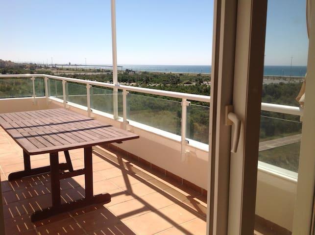 Ático duplex frente a la playa - El Ejido - Apartemen