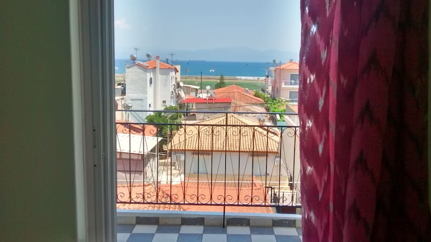 Comfy apartment in Gytheio with a nice view