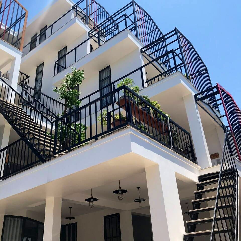 This is the entire house. The stair is your private path to get to your room.