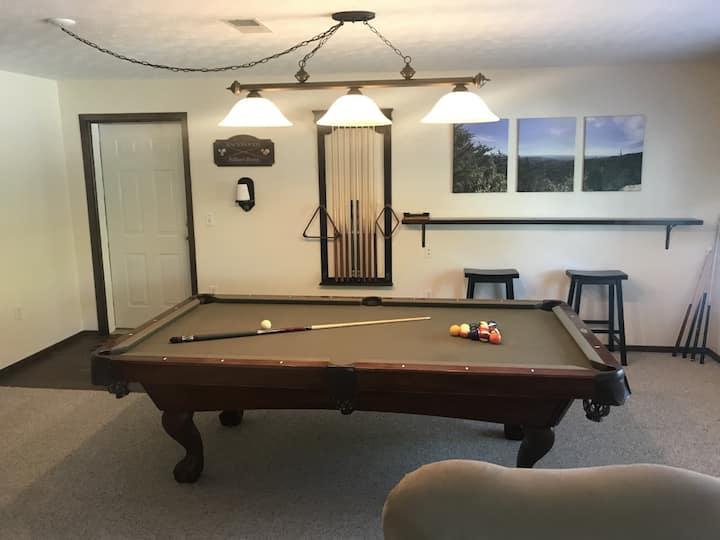 Billiard House Huntsville TN Brimstone trailaccess