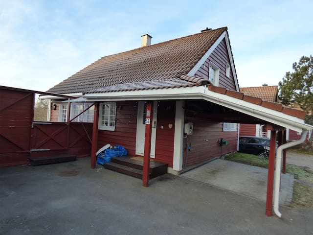 House, Oppegard 26 min by train to Oslo Central - Oppegard