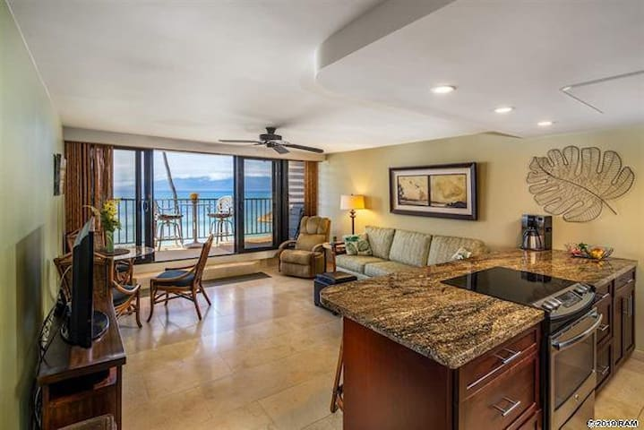 Direct Oceanfront Stunner! Maui is calling YOU!