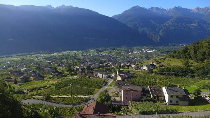 Bilocale a pochi km da Bormio e Livigno - Villa di Tirano - Huoneisto