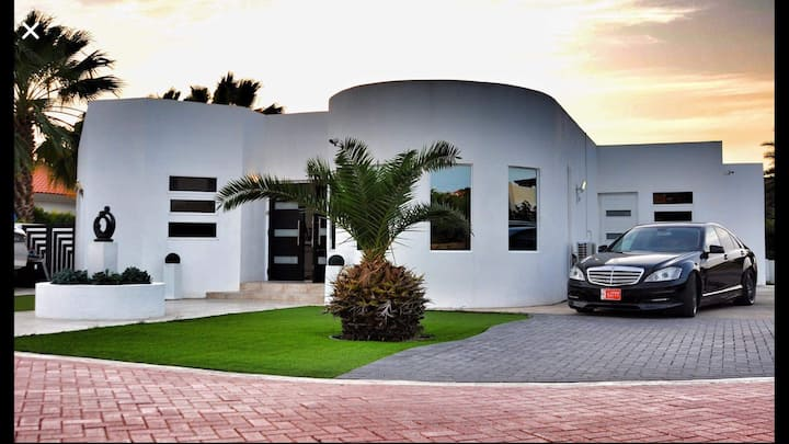 NEW ! Contemporary Villa / Jacuzzi , Palm Beach