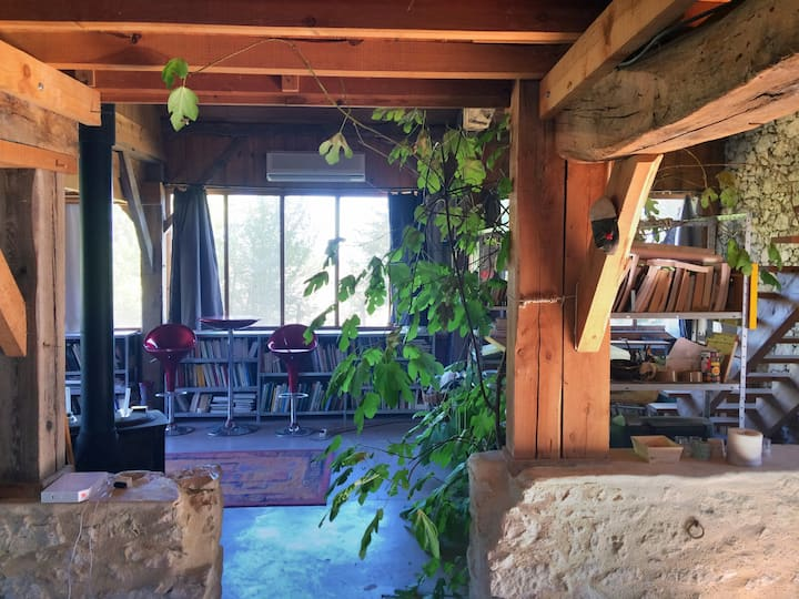Loft dans une ancienne grange gersoise