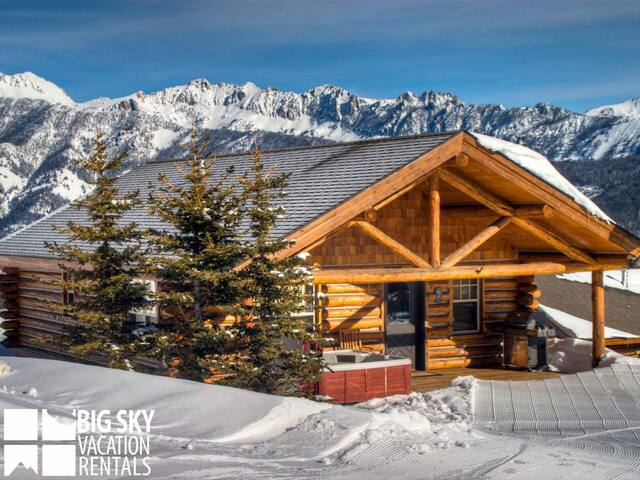 Perfect Views! Located On The Slope For Perfect Ski Access. Private Hot Tub! (CH 7 Cowboy)
