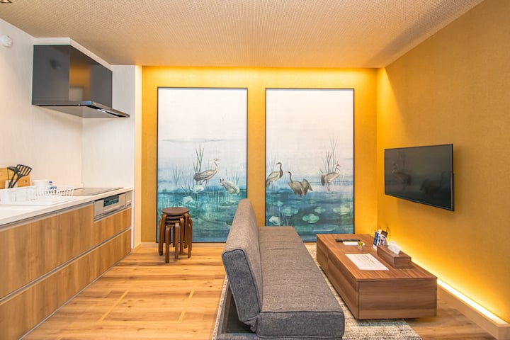 Go to トラベル割引開始!Family cottage 薬院南 B (Free Parking)