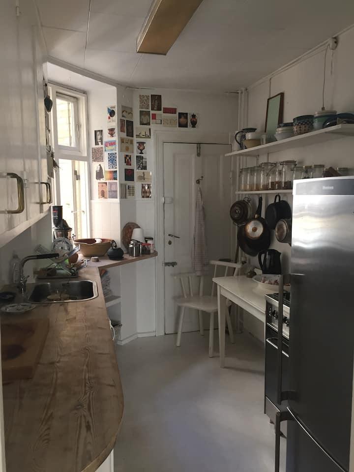 The most cozy in Copenhagen - with small bathroom