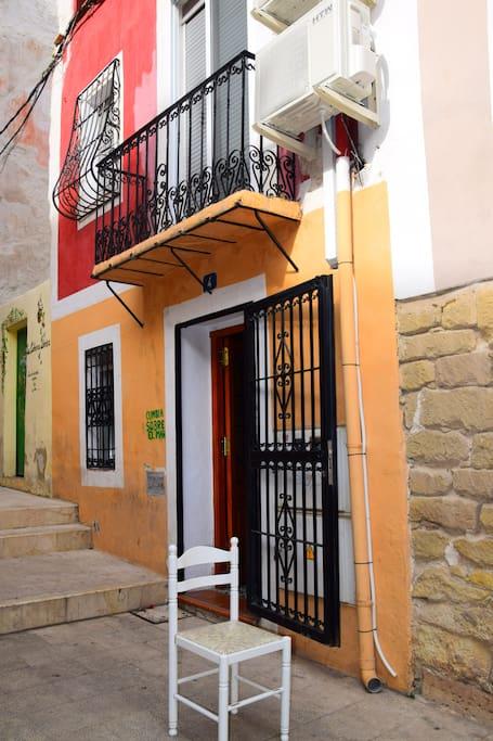 Eingang Casa Sebastia