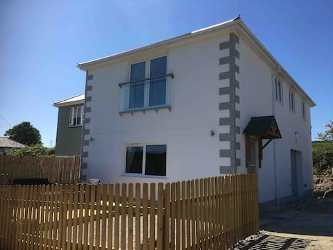 New spacious flat, great location, games room.