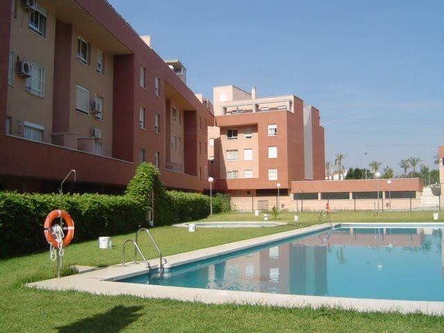 apartamento en Málaga para julio y agosto - Malaga - Appartement en résidence