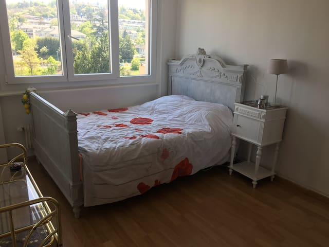Cozy room near Geneva & Free parking