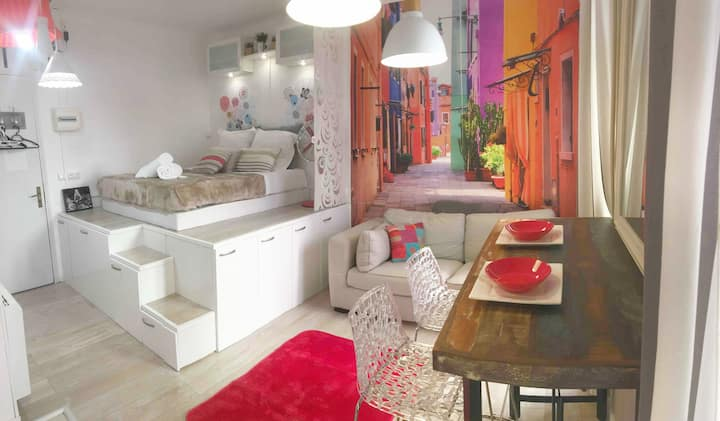 Amazing flat in the city center