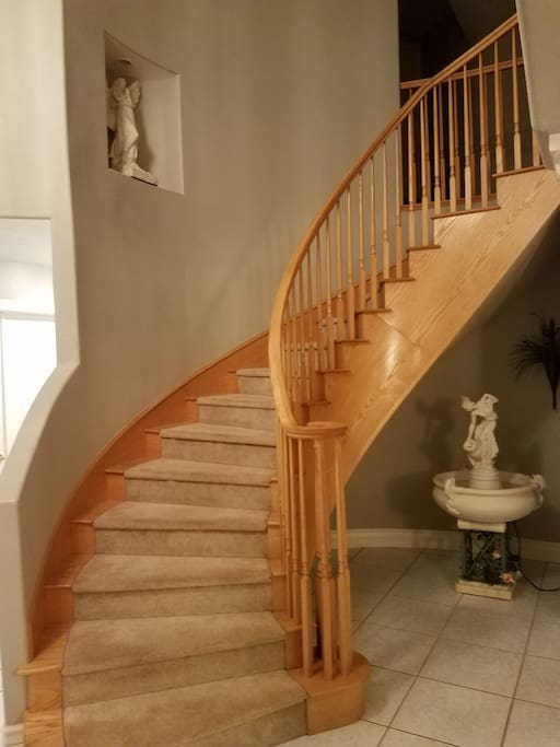 1 of 2 Staircases