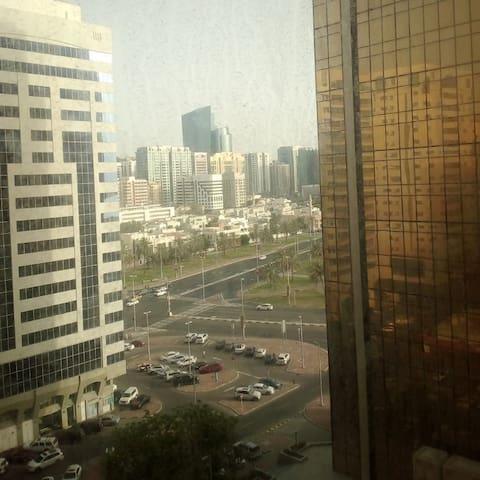 Abu Dhabi Cornish, private room, private bathroom