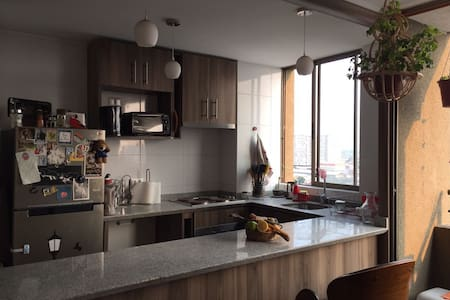 Breakfast/Private room intercutural neighborhood - Santiago - Condominium